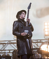 Pete Doherty, The Libertines on the main stage. Saturday, 11th July 2015, day two at T in the Park 2015, at its new home at Strathallan Castle.