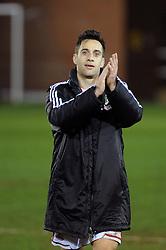 Bristol City's Sam Baldock applauds the fans at the end of the game - Photo mandatory by-line: Dougie Allward/JMP - Mobile: 07966 386802 11/03/2014 - SPORT - FOOTBALL - Peterborough - London Road Stadium - Peterborough United v Bristol City - Sky Bet League One