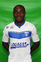Charlevy Mabiala of Auxerre during Auxerre squad photo call for the 2016-2017 Ligue 2 season on September, 7 2016 in Auxerre, France ( Photo by Andre Ferreira / Icon Sport )
