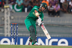 © Licensed to London News Pictures. 28/09/2012. Jean-Paul Duminy batting during the T20 Cricket World cup match between South Africa Vs Pakistan at the R.Premadasa Cricket Stadium,Colombo. Photo credit : Asanka Brendon Ratnayake/LNP