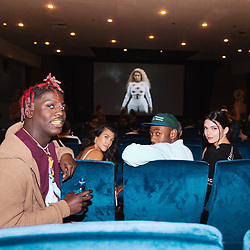 """Kourtney Kardashian releases a photo on Instagram with the following caption: """"movie night #cantstopwontstop"""". Photo Credit: Instagram *** No USA Distribution *** For Editorial Use Only *** Not to be Published in Books or Photo Books ***  Please note: Fees charged by the agency are for the agency's services only, and do not, nor are they intended to, convey to the user any ownership of Copyright or License in the material. The agency does not claim any ownership including but not limited to Copyright or License in the attached material. By publishing this material you expressly agree to indemnify and to hold the agency and its directors, shareholders and employees harmless from any loss, claims, damages, demands, expenses (including legal fees), or any causes of action or allegation against the agency arising out of or connected in any way with publication of the material."""