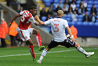 Fleetwood Town's Victor Nirennold whips the ball into the box <br /> <br /> Photographer Ian Cook/CameraSport<br /> <br /> Football - The EFL Sky Bet League One - Bolton Wanderers v Fleetwood Town - Saturday 20 August 2016 - Macron Stadium - Bolton<br /> <br /> World Copyright © 2016 CameraSport. All rights reserved. 43 Linden Ave. Countesthorpe. Leicester. England. LE8 5PG - Tel: +44 (0) 116 277 4147 - admin@camerasport.com - www.camerasport.com