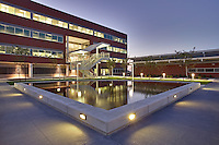 Architectural image of the FBI building in Baltimore Maryland by Jeffrey Sauers of Commercial Photographics, Architectural Photo Artistry in Washington DC, Virginia to Florida and PA to New England