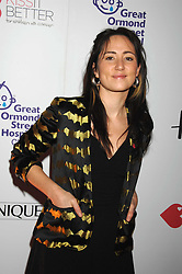 Singer K T TUNSTALL at a reception to launch the Kiss It Better Appeal in aid of the Great Ormond Street Hosoital supported by Clinique - held at Harrods, Knightsbridge, London on 30th January 2008.<br /><br />NON EXCLUSIVE - WORLD RIGHTS