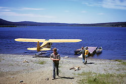 Float Plane On The Allagash River