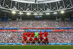 July 14, 2018 - Saint Petersburg, Russia - Players of the England national football team during the 2018 FIFA World Cup Russia 3rd Place Playoff match between Belgium and England at Saint Petersburg Stadium on July 14, 2018 in St. Petersburg, Russia. (Credit Image: © Igor Russak/NurPhoto via ZUMA Press)