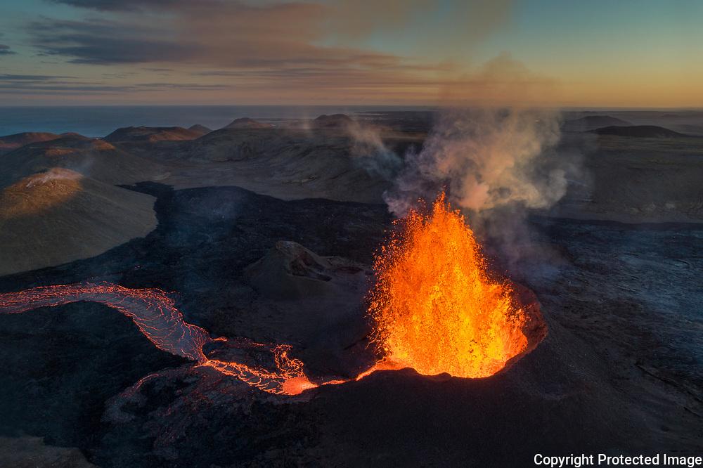 Geldingadalir Volcano, Iceland