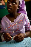 Senegal, May 2009. Woman recieved Malaria treatment (SEE LINDSEY FOR NAMES)
