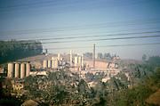 Cimento Perus cement factory, Sao Paulo, Brazil, South America 1962