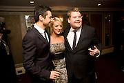 DOMINIC COOPER; Sheridan Smith; JAMES CORDEN;, The Laurence Olivier Awards, The Grosvenor House Hotel. Park Lane. London. 8 March 2009