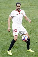 Sevilla FC's Adil Rami during La Liga match. March 19,2017. (ALTERPHOTOS/Acero)