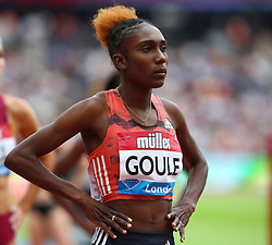 July 22, 2018 - London, United Kingdom - Natoya Goule of Jamaica Compete in the 800m Women during the Muller Anniversary Games IAAF Diamond League Day Two at The London Stadium on July 22, 2018 in London, England. (Credit Image: © Action Foto Sport/NurPhoto via ZUMA Press)