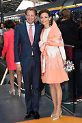 Koningsdag 2017 in Tilburg / Kingsday 2017 in Tilburg<br /> <br /> Op de foto / On the photo:  Prins Floris en prinses Aimee / Prince Floris en Princess Aimee