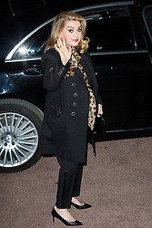 Catherine Deneuve arriving at Saint Laurent show during Ready To Wear A/W 2019-2020 as part of Paris Fashion Week on February 26, 2019 in Paris, France. Photo by Nasser Berzane/ABACAPRESS.COM