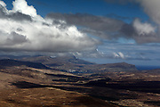 A view of Northern Skye from the Black Cuillin Mountains, captured while climbing the Bruach na Frithe munro.