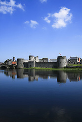 July 21, 2019 - King John's Castle, River Shannon, County Limerick, Ireland (Credit Image: © Peter Zoeller/Design Pics via ZUMA Wire)