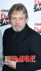 Mark Hamill wins the Empire Icon Award at the Rakuten TV Empire Film Awards at the Roundhouse in London.