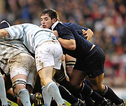 Twickenham. GREAT BRITAIN, Doug ABBOTT, driving in the scrum, during the 2006 Varsity Rugby Match at Twickenham Stadium, England 12.12.2006. [Photo, Peter Spurrier/Intersport-images] Sponsor, Lehman Brothers,