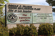 Donald C. Tillman Water Reclamation Plant and Japanese Gardens, Van Nuys, California, USA