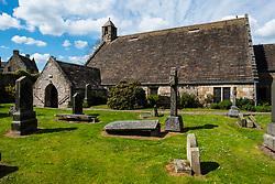 St Fillans Church at Aberdour in Fife , Scotland, UK