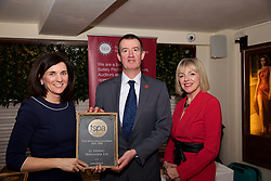 Le Gourmet Wholefoods<br /> 1. Eibhlin O'Leary. Training & Compliance Manager, Food Safety Authority of Ireland<br /> 2. Martin Lynch collecting on behalf of Le Gourmet Wholefoods<br /> 3. Mary Daly. Chairperson, FSPA