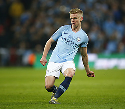 February 24, 2019 - London, England, United Kingdom - Manchester City's Oleksandr Zinchenko.during during Carabao Cup Final between Chelsea and Manchester City at Wembley stadium , London, England on 24 Feb 2019. (Credit Image: © Action Foto Sport/NurPhoto via ZUMA Press)