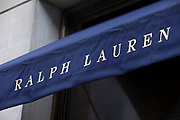 Sign for high end fashion and exclusive brand Ralph Lauren.