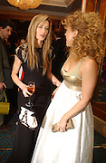 Natasha McElhone and Alex Kingston. Laurence Oliver Awards, Hilton Hotel. 26 February 2006. ONE TIME USE ONLY - DO NOT ARCHIVE  © Copyright Photograph by Dafydd Jones 66 Stockwell Park Rd. London SW9 0DA Tel 020 7733 0108 www.dafjones.com