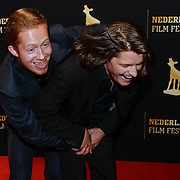 NLD/Utrecht/20120926- Nederlands Filmfestival 2012, NFF, Robert de Hoog en Teun Kuilboer