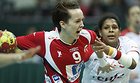 Håndball , 20. desember 2009 , Norge - Spania , Bronse-finale , hvor nordk tok 3. plassen<br /> World Cup China Game to square 3 Spain Norway 20 28 Kristine Lunde Borgersen <br /> <br /> Norway only