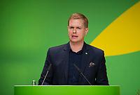 DEU, Deutschland, Germany, Berlin, 23.11.2018: Gustav Fridolin, Co-spokesperson of Miljöpartiet de gröna (Sweden). Council of the European Green Party (EGP council) at Deutsche Telekom Representative Office.