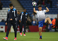 Leicester City's Shinji Okazaki during the pre-match warm-up <br /> <br /> Photographer Stephen White/CameraSport<br /> <br /> The Premier League - Leicester City v Tottenham Hotspur - Thursday 18th May 2017 - King Power Stadium - Leicester <br /> <br /> World Copyright © 2017 CameraSport. All rights reserved. 43 Linden Ave. Countesthorpe. Leicester. England. LE8 5PG - Tel: +44 (0) 116 277 4147 - admin@camerasport.com - www.camerasport.com<br /> <br /> Photographer Stephen White/CameraSport<br /> <br /> The Premier League - Leicester City v Tottenham Hotspur - Thursday 18th May 2017 - King Power Stadium - Leicester <br /> <br /> World Copyright © 2017 CameraSport. All rights reserved. 43 Linden Ave. Countesthorpe. Leicester. England. LE8 5PG - Tel: +44 (0) 116 277 4147 - admin@camerasport.com - www.camerasport.com
