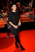 Premiere Patatje Oorlog tijdens de Opening van het Cinekid Festival in de Gashouder op het Westergasterrein in Amsterdam.<br /> <br /> Op de foto:  Vivienne van den Assem