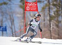 Francis Piche Invitational j4 1st run girls at Gunstock March 19, 2010....