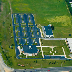 Aerial views of the Wilmington University Dover Campus