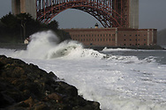 Frothy Wave<br /> Fort Point<br /> San Francisco, California