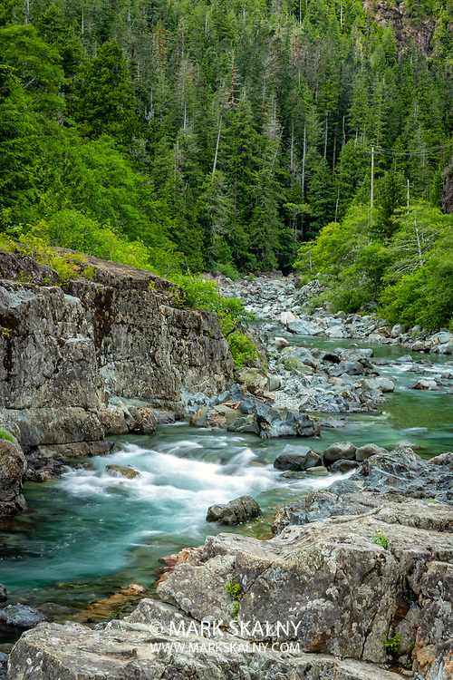 Kennedy River and Wally Creek Pull Out along the Pacific Rim Highway<br /> Corporate Photography by Mark Skalny <br /> 1-888-658-3686