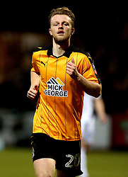 Max Clark of Cambridge United - Mandatory by-line: Robbie Stephenson/JMP - 09/01/2017 - FOOTBALL - Cambs Glass Stadium - Cambridge, England - Cambridge United v Leeds United - FA Cup third round