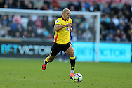 Nordin Amrabat of Watford in action.  Premier league match, Swansea city v Watford at the Liberty Stadium in Swansea, South Wales on Saturday 22nd October 2016.<br /> pic by  Andrew Orchard, Andrew Orchard sports photography.