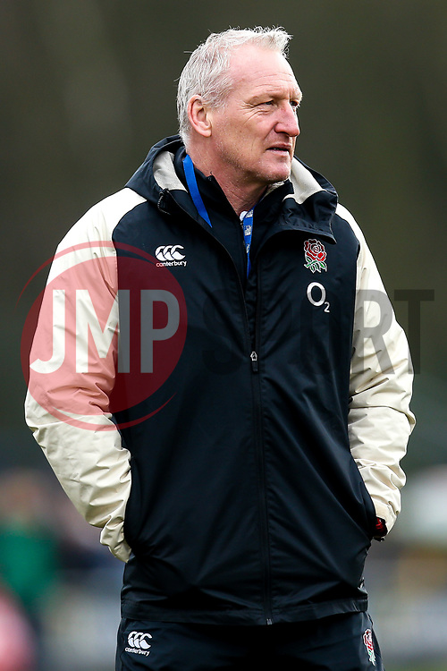 England Women head coach Simon Middleton - Mandatory by-line: Robbie Stephenson/JMP - 10/02/2019 - RUGBY - Castle Park - Doncaster, England - England Women v France Women - Women's Six Nations
