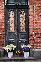 Georgie, Caucase, Tbilissi, porte dans la vieille ville,  // Georgia, Caucasus, Tbilisi, door in old city