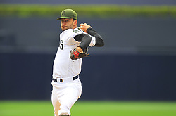 May 29, 2017 - San Diego, CA, USA - San Diego Padres' Jarred Cosart pitches against the Chicago Cubs on Monday, May 29, 2017 at Petco Park in San Diego, Calif. (Credit Image: © K.C. Alfred/TNS via ZUMA Wire)