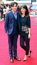© Licensed to London News Pictures. 11/05/2014, UK. Stephen Mangan; Louise Delamere, Postman Pat: The Movie - World Film Premiere, Odeon West End Leicester Square, London UK, 11 May 2014,. Photo credit : Richard Goldschmidt/Piqtured/LNP