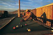 Street snooker<br /> Ulaanbaatar<br /> Mongolia