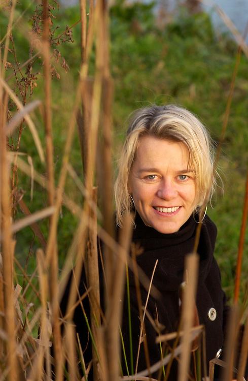 Utrecht, 24 dec 2004.Mirjam de Rijk, dir. van Natuur en Milieu...foto (c) Michiel Wijnbergh