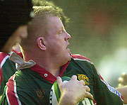 Leicester. ENGLAND. Welford Road. 14.12.2002. Pool Game in the<br /> European Heineken Cup Rugby <br /> Leicester Tigers vs Beziers<br /> Dorian West   [Mandatory Credit:Peter SPURRIER/Intersport Images]