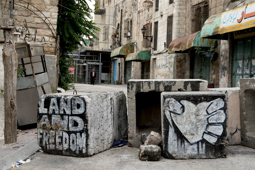 The Israeli military has established over 20 permanent staffed checkpoints in Hebron, restricting life for Palestinian residents