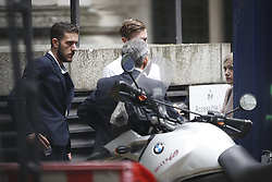 © Licensed to London News Pictures. 13/07/2017. London, UK. Connie Yates and <br />