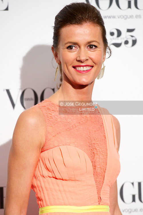Nuria March attends Vogue 'Who's On Next' Party 2013 at Italian Embassy in Madrid