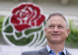 October 30, 2017 - Pasadena, California, U.S - Actor GARY SINISE speaks to the media after being introduced as the grand marshall for 129th Tournament of Roses parade at Tournament House Sinise will serve as grand marshal of the 2018 Rose Parade, which will feature the theme ''Making a Difference'' on New Year's Day in Pasadena on Jan. 1, 2018. (Credit Image: © Ringo Chiu via ZUMA Wire)